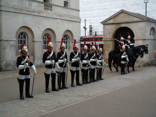 horseguards inspection
